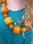 Chunky Amber Necklace