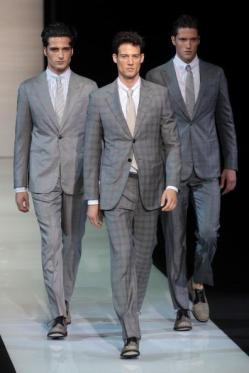 Giorgio Armani: Runway - Milan Fashion Week Menswear Spring/Summer 2013